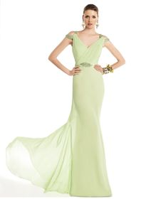 Pronovias te presenta su vestido de fiesta Tallo de la colección Fiesta 2014. | Pronovias