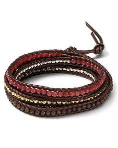 Chan Luu Leather Five Wrap Bracelet | Bloomingdale's