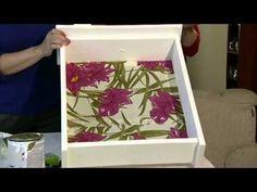 Reciclando gavetas velha - YouTube