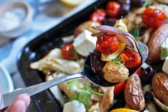 One-Pan Greek Chicken Breast Dinner Recipe