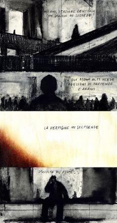 """Francesco Chiacchio, Sequenze disegnate per il programma radiofonico """"Amnésia"""" di Radio rai2. 2009"""