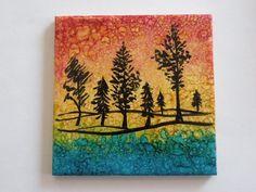 Handpainted Alcohol Ink Tiles Coasters and by LindaFlynnStudio, $20.00