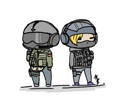 Jager and IQ by zetsumeininja