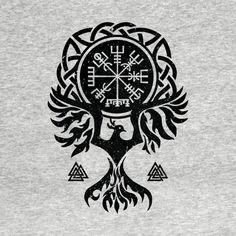 Shop Vegvisir and Phoenix bird vegvisir t-shirts designed by Nartissima as well as other vegvisir merchandise at TeePublic. Simbols Tattoo, Armor Tattoo, Body Art Tattoos, 3d Tattoos, Samoan Tattoo, Polynesian Tattoos, Viking Tattoo Symbol, Norse Tattoo, Viking Tattoo Design