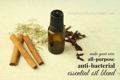 DIY All-Purpose Anti-Bacterial Essential Oil Blend