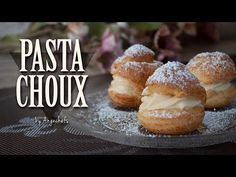 Pasta Choux Receta, Eclair Recipe, Kitchen Aid Recipes, Sweet Dough, Choux Pastry, Eclairs, Sin Gluten, Four, No Bake Desserts