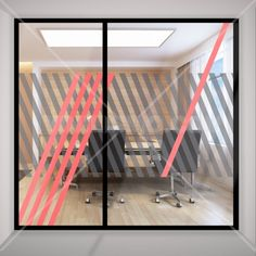 decal idea for conference space Glass Film Design, Frosted Glass Design, Office Wall Graphics, Window Graphics, Office Signage, Office Branding, Corporate Interiors, Office Interiors, Cl Design