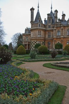 "wanderthewood:  ""The winter garden at Waddesdon Manor, Buckinghamshire, England by Thorbard  """