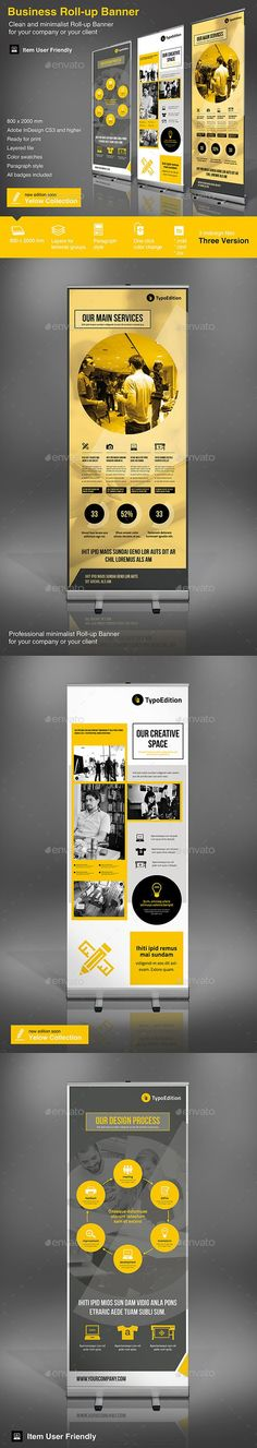Roll-up Business Template #design Download: http://graphicriver.net/item/rollup-business-vol-3/10767531?ref=ksioks: