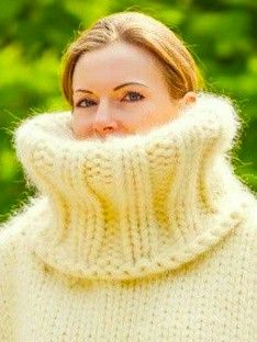 Chunky Sweaters, Chunky Knits, White Sweaters, Wool Sweaters, Mohair Sweater, Turtleneck, Men Sweater, Gros Pull Mohair, Extreme Knitting