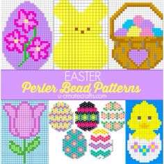 Free Perler Bead Patterns for Kids! - UCreate