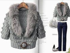 Ivelise Hand Made: Linda Jacket V háčkování