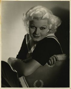 Jean Harlow portraits from The Girl From Missouri by George Hurrell.