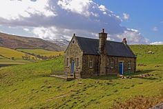 A lonely house on the Snake Pass - nr Glossop, Derbyshire