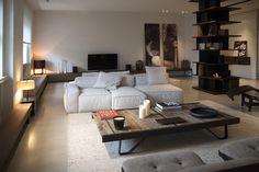 Integração Sala de estar, jantar e TV