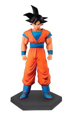 Figura Goku, 15 cm. Dragon Ball. DXF Banpresto. Chozousyu. Color original  Figura estatua de Goku,que  pertenece a la serie CHOZOUSYU la cual está coordinada por Mr.Nakazawa quien ha diseñado mas de 100 figuras de Dragon Ball en los últimos 15 años. Estan pintadas como en el anime original.