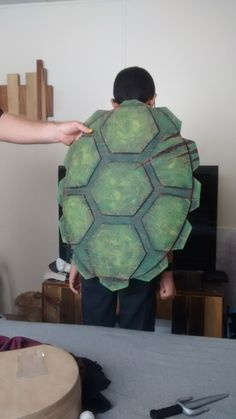 DIY TEENAGE MUTANT NINJA TURTLE COSTUME