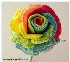 10 Free Rainbow Crochet Patterns! - The Lavender Chair