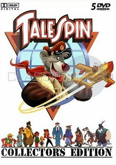 TaleSpin Old School Cartoons, 90s Cartoons, Animated Cartoons, Walt Disney Cartoons, Disney Art, Disney Movies, Disney Pixar, Childhood Characters, 90s Childhood