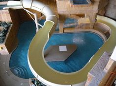 BlueWater Resort and Casino: Pool slide