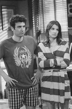 Ted and Robin Ted And Robin, Barney And Robin, Ted Mosby, Movies And Series, Best Series, Tv Series, How I Met Your Mother, Marshall Eriksen, Robin Scherbatsky