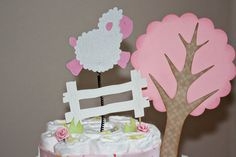 Ideas on pinterest diaper cakes noah ark and lamb baby showers