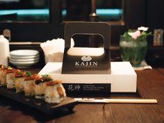 Kajin Sushi Bar & Rayjin Teppanyaki Dining Bar on Behance