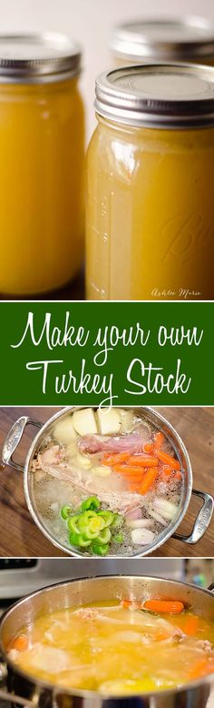 how to create your own turkey stock from your leftover turkey carcass