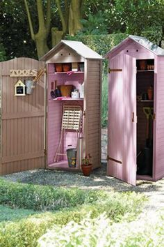 Garden tool sheds from Next Home.