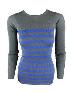 Stella Mccartney Womens Storm Blue Nautical Stripe Wool Rib Top 38 Stella McCartney. $416.00