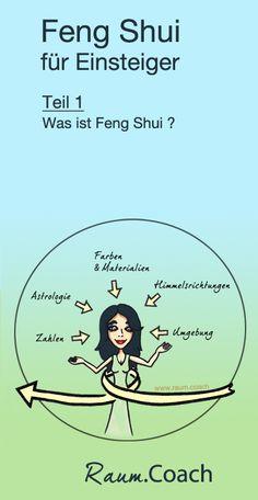 """Was ist eigentlich Feng Shui?  Feng Shui entwickelte sich aus jahrelangen Beobachtungen der Natur. Dabei stellte man fest, dass alles von einer Art Energie - dem Qi - umwoben ist, die auf uns wirkt. Je natürlicher sich dieses """"Qi"""" an einem Ort bewegen kann, umso unterstützender und gesünder wirkt sich dieser Ort auf uns Menschen aus.  Ein Lebensraum mit gutem Feng Shui und einem solchen lebendigen Qi-Fluss kann uns so Wohlstand, Glück, Erfolg und gesunde Beziehungen in unserem Leben bringen."""