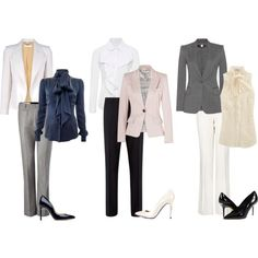 Interview Outfits: Business Casual