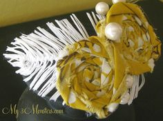 how to make white feathers out of fabric - Google Search