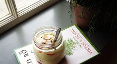 Icelandic Skyr, Avocado and Coconut Breakfast Mousse