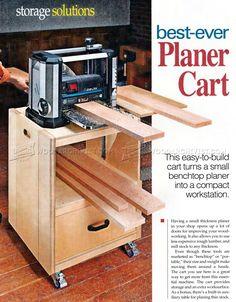 #2810 Planer Cart Plans - Planer