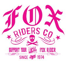 Fox is the leader in motocross and mountain bike gear, and the apparel choice of action sports athletes worldwide. Shop now from the Official Fox Racing® Online store. Fox Racing Tattoos, Fox Racing Logo, Fox Logo, Racing Stickers, Bike Stickers, Fox Rider, Mtb Clothing, Motocross Gear, Shirts