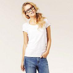 Cap Sleeve T-shirt | The White Company