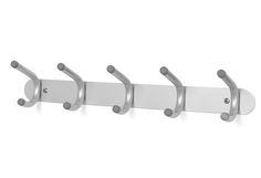 Praktisk knaggrekke med 10 kroker som også kan brukes som dørhenger.