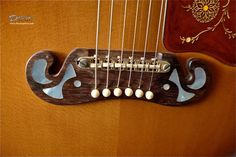 carved guitar bridge acoustic - Sök på Google