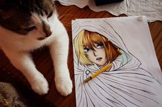 Armin progress 2 by DoreiShounen.deviantart.com on @deviantART