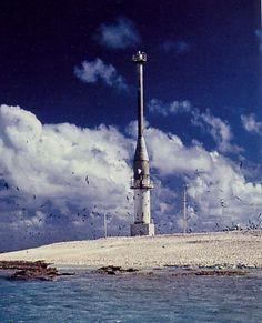 Frederick Reef Light Coral Sea Islands Australia  Australian Bureau of Meteorology photo
