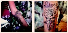 Best friend just got a beautiful tattoo #eastsideink #tattoo #floral #peony