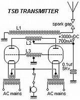 Spark Gap Transmitter Schematic