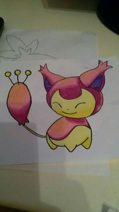 Skitty.  -Pokèmon.