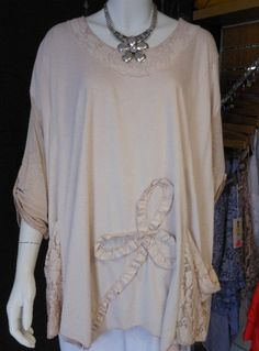 GORGEOUS & QUIRKY PLUS SIZE SUEDE FEEL LAGENLOOK TUNIC TOP IN PINK FITS UK 18-26 | eBay