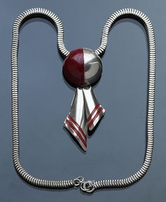 Art Deco Necklace, German 1930's