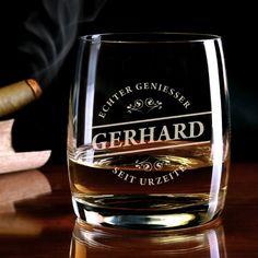Personalisierbares Whiskyglas