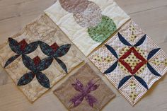 Japanese Folded Patchwork Origami and quilting beautiful but I definitely need to sit with someone for a long time to learn this!
