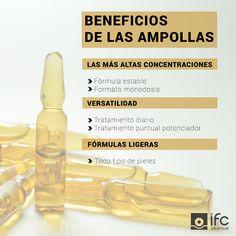 ¿Por qué son importantes las ampollas en cosmética? Estos formatos monodosis, pueden utilizarse como un potente tratamiento diario o como complemento potenciador de otros tratamientos, gracias a las altas concentraciones de activos.