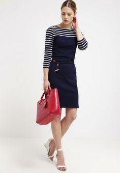 Lauren Ralph Lauren - GRACELYN  - Robe en jersey - spring navy Ralph Lauren, Dresses For Work, Navy, Spring, Style, Fashion, Dress, Fashion Ideas, Woman